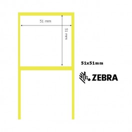 880010-050 - Etichette Zebra F.to 51x51mm Z-Select 1000T