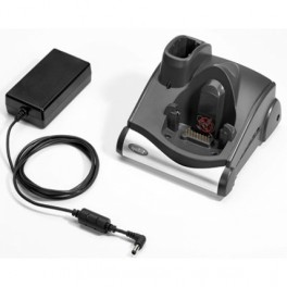 CRD9000-111SES - Culla Singola Ricarica e Comunicazione USB/RS232 per Zebra Motorola MC9x90-G - Include Alimentatore