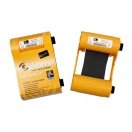800033-801 - Ribbon Monocromatico Nero per Stampanti Zebra ZXP Serie 3 - True Colours Ribbon - 1000 Stampe