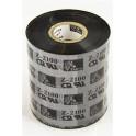 02100BK08045 - Ribbon Zebra F.to 80mmX450MT 2100 High Performance Wax