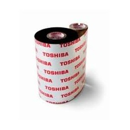 BX730220AS1 - Ribbon Toshiba TEC F.to 220mm x 300MT AS1 Resina Near-Edge - Confezione da 5 Rotoli