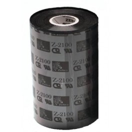 02100BK15645 - Ribbon Zebra F.to 156mmX450MT 2100 High Performance Wax