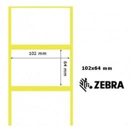 880023-063D - Etichette Zebra F.to 102x64mm Z1000T