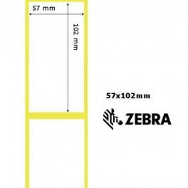 800262-405 - Etichette Zebra F.to 57x102mm Z-Select 2000D