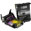 800011-140 - Ribbon a Colori YMCKO per Stampante Zebra ZXP Serie 1 - True Colours Ribbon - 100 Stampe